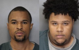 Cameron Isaac, left, and Ninimbe Mitchell, right, face murder charges in connection to the death of a Syracuse University student.
