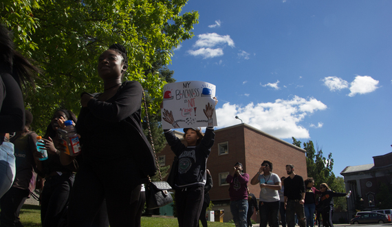 Gallery: SU community calls for justice in response to incidents of police brutality